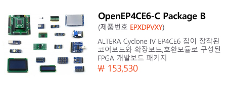 OpenEP4CE6-C Package B